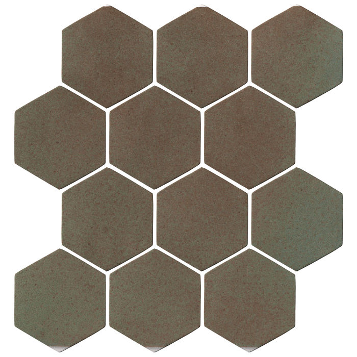 4x4 Oleson Hexagon Elder Green