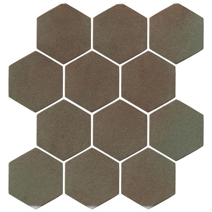 4x4 Oleson Hexagon Elder Green