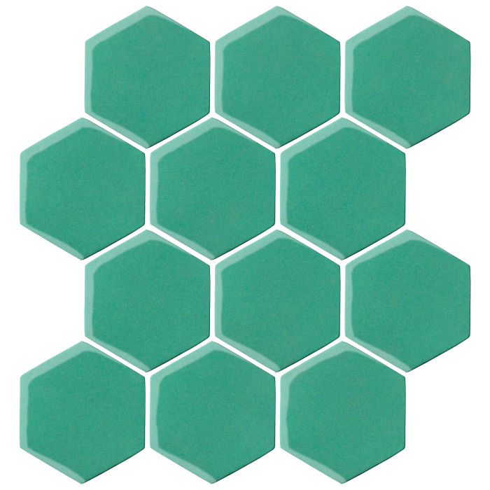 4x4 Oleson Hexagon Herbs 7724c