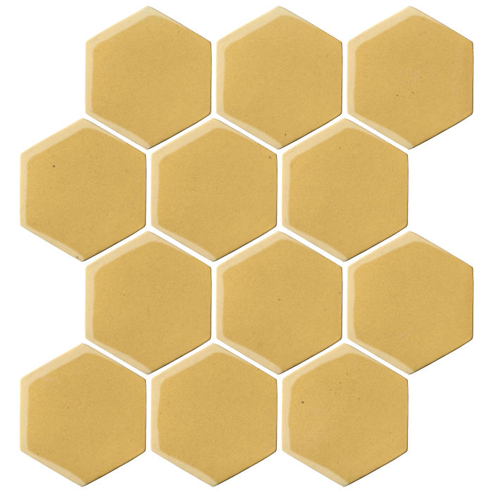 4x4 Oleson Hexagon Lemon Scent