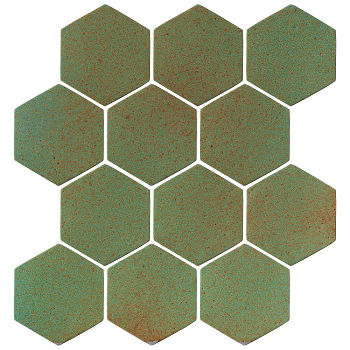 4x4 Oleson Hexagon Light Copper