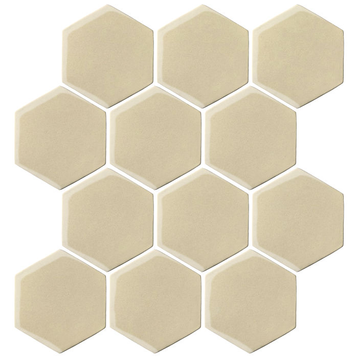 4x4 Oleson Hexagon Light Lemon 7499c