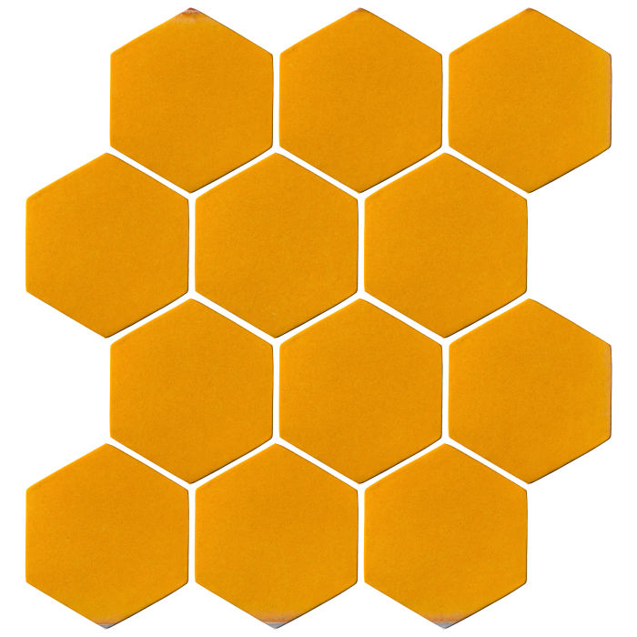 4x4 Oleson Hexagon Mandarin 129u