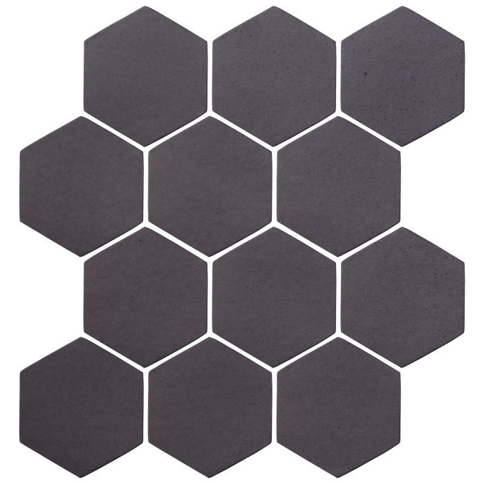 4x4 Oleson Hexagon May Gray