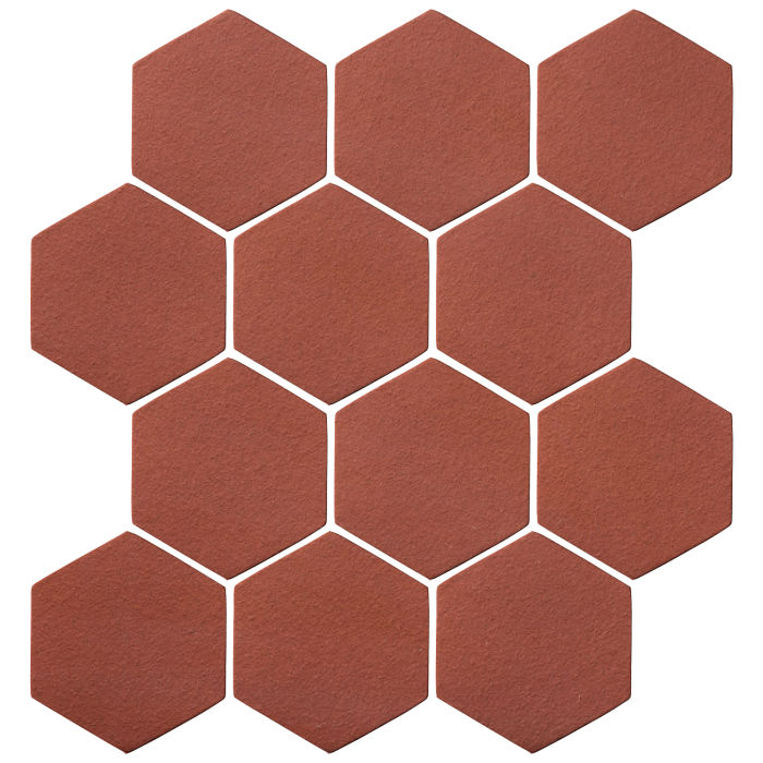 4x4 Oleson Hexagon Monrovia Red