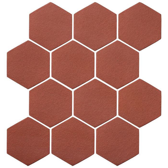 4x4 Oleson Hexagon Monrovia Red