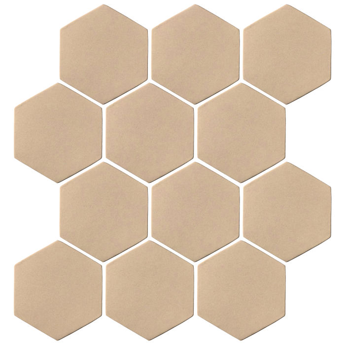 4x4 Oleson Hexagon Putty 4685c