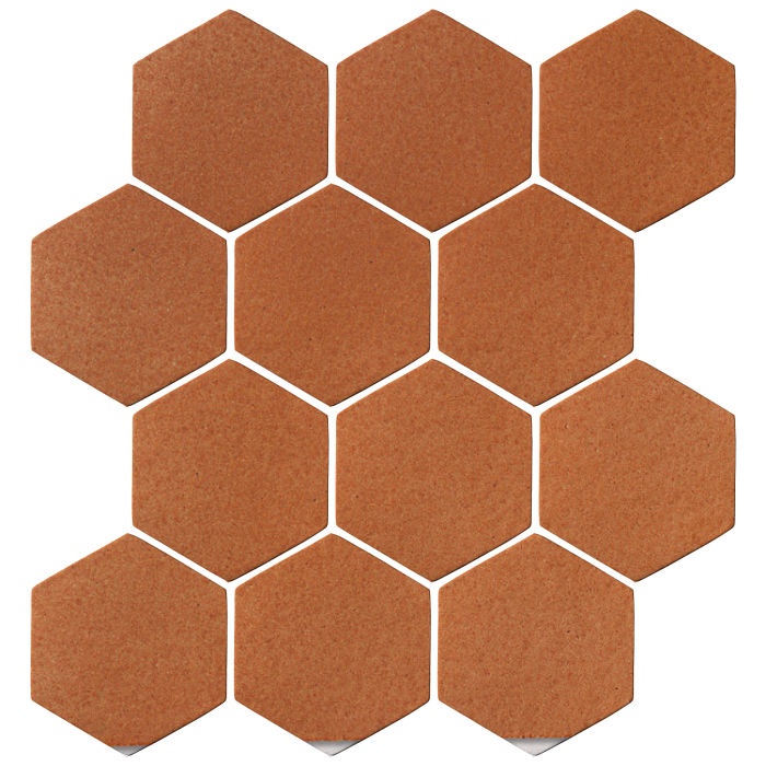 4x4 Oleson Hexagon Red Iron