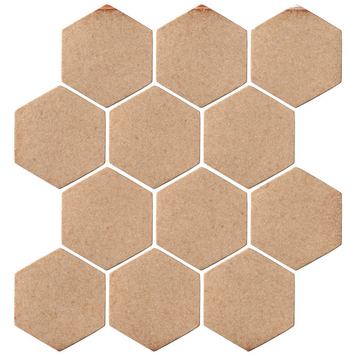 4x4 Oleson Hexagon Shiitake 466u