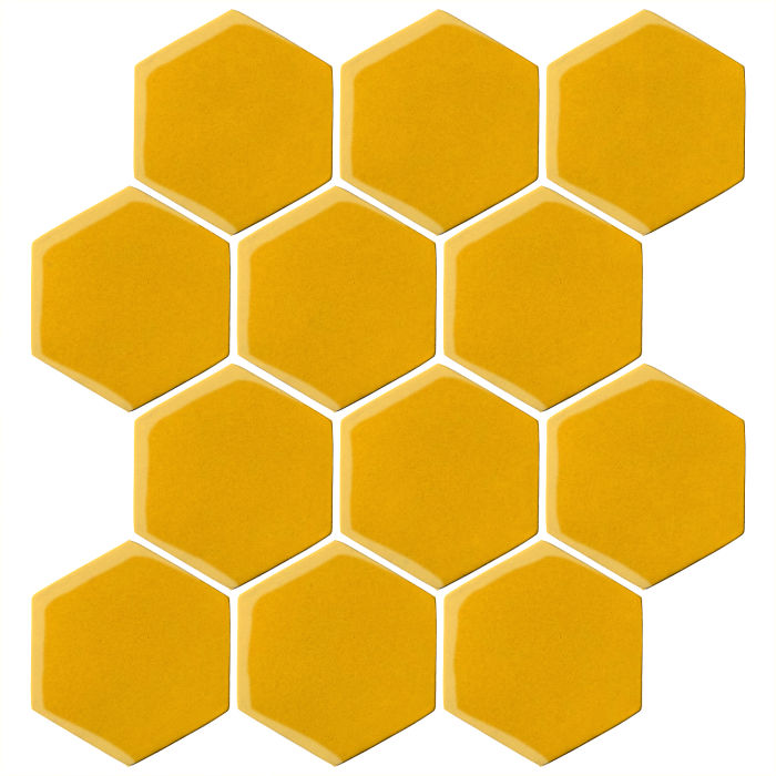 4x4 Oleson Hexagon Sunflower 1225c