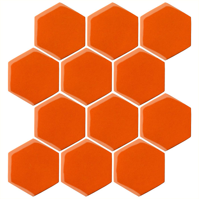 4x4 Oleson Hexagon Sunset 1585c
