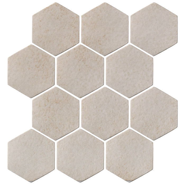 4x4 Oleson Hexagon Walnut Spice