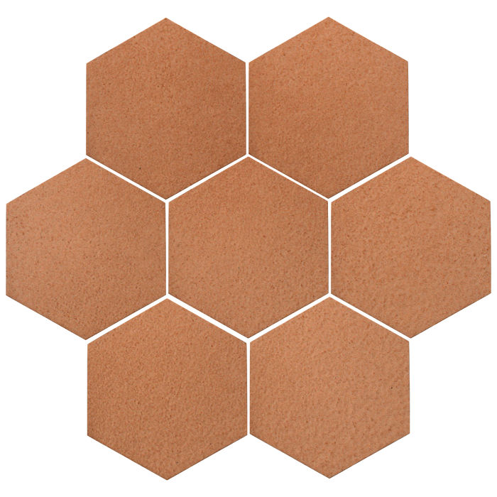 6x6 Oleson Hexagon Beechnut