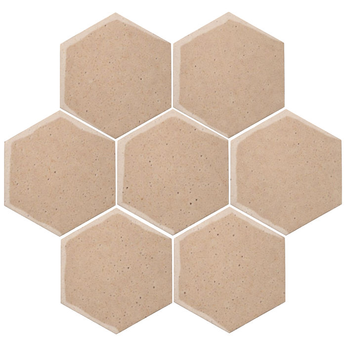 6x6 Oleson Hexagon Beach Sand WG1c