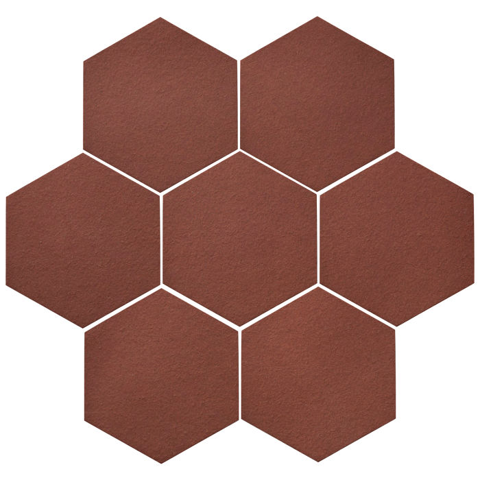 6x6 Oleson Hexagon Braun