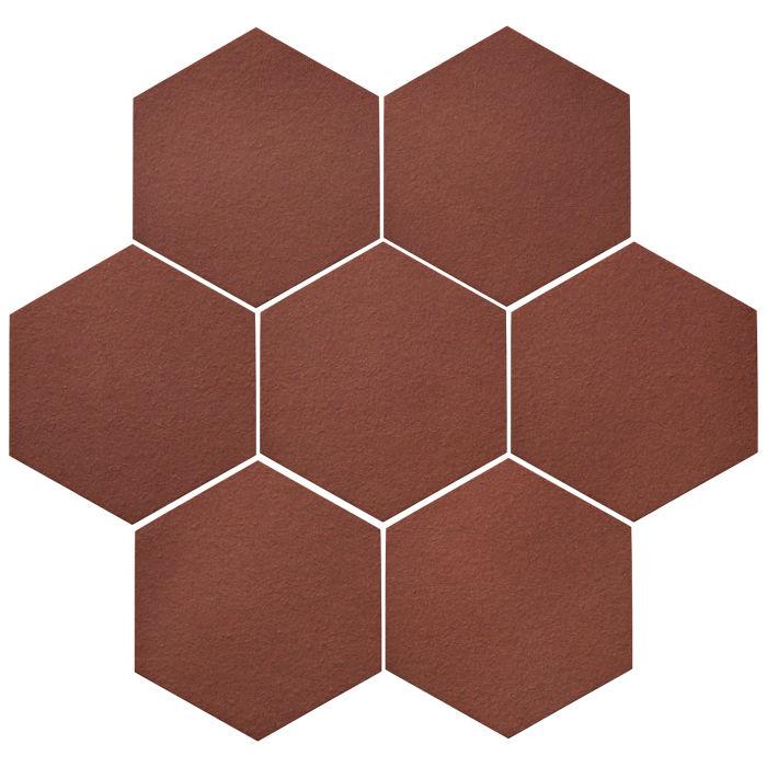 6x6 Oleson Hexagon Braun