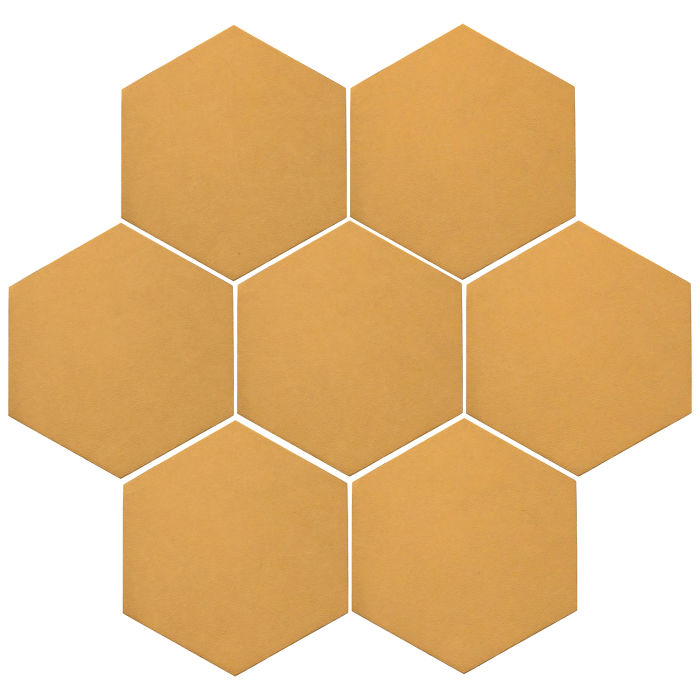 6x6 Oleson Hexagon Custard 7403u