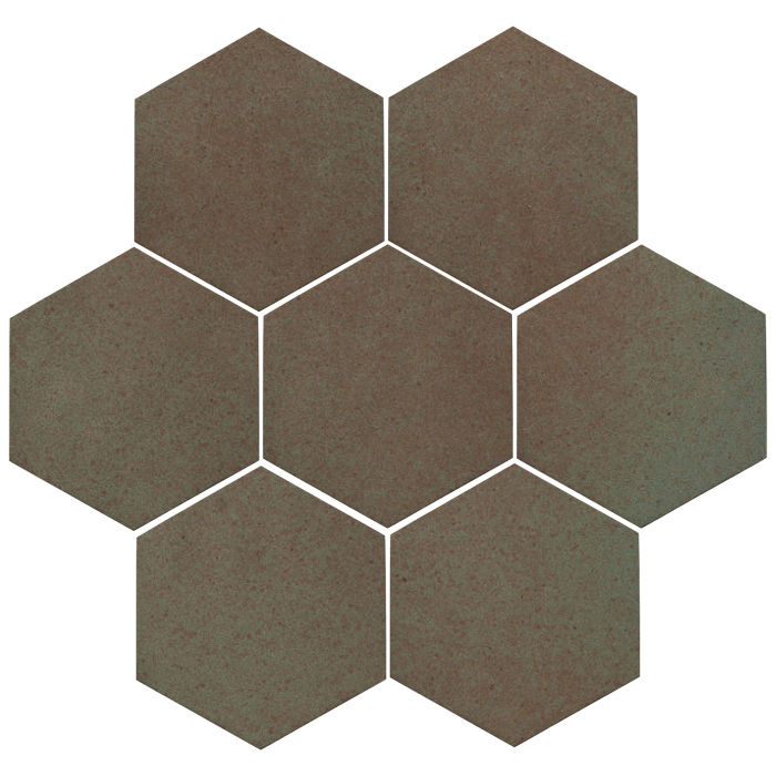 6x6 Oleson Hexagon Elder Green