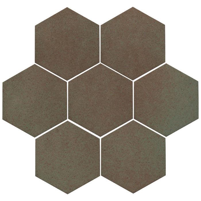 6x6 Oleson Hexagon Elder Green