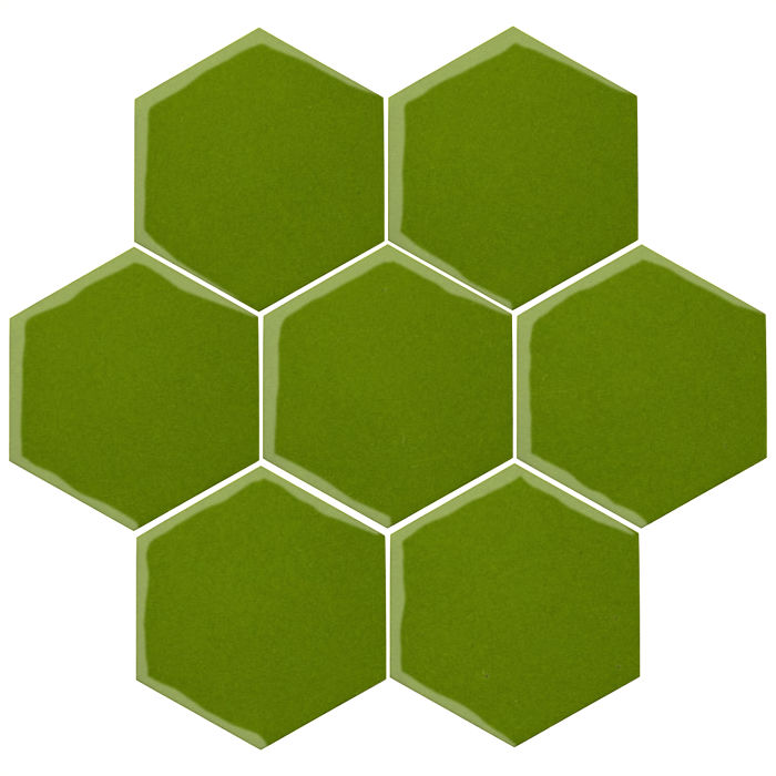 6x6 Oleson Hexagon Jalapeno 7741c
