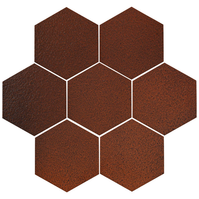 6x6 Oleson Hexagon Leather