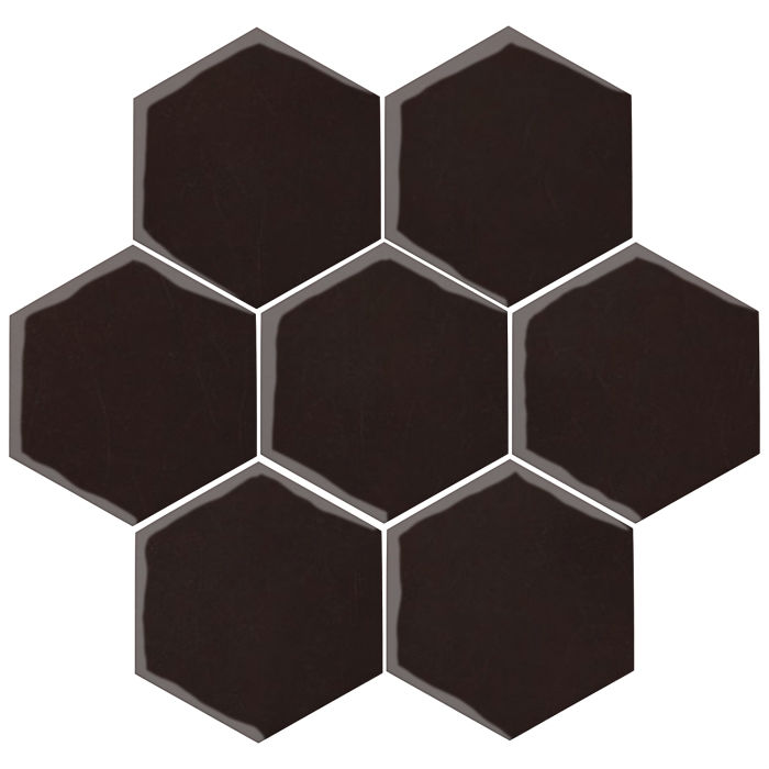 6x6 Oleson Hexagon Licorice