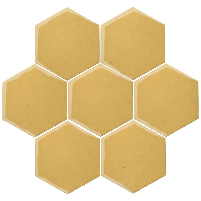 6x6 Oleson Hexagon Lemon Scent