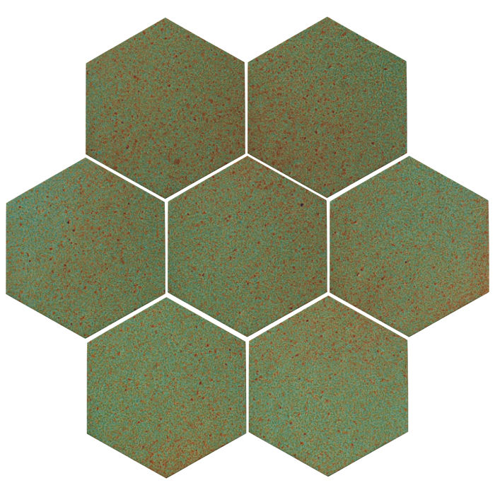 6x6 Oleson Hexagon Light Copper