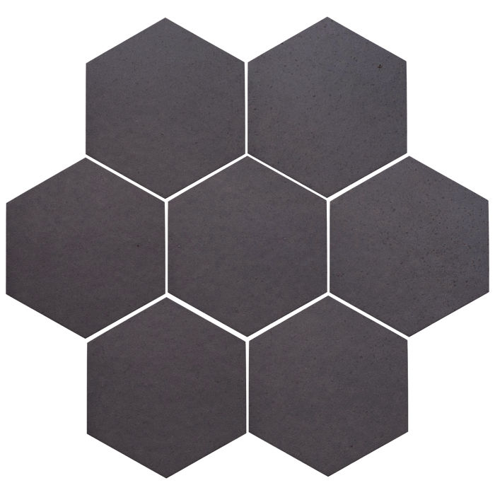 6x6 Oleson Hexagon May Gray
