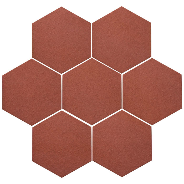 6x6 Oleson Hexagon Monrovia Red