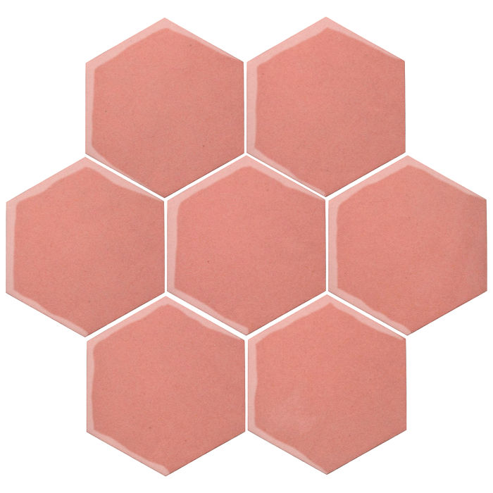 6x6 Oleson Hexagon Peach Pie