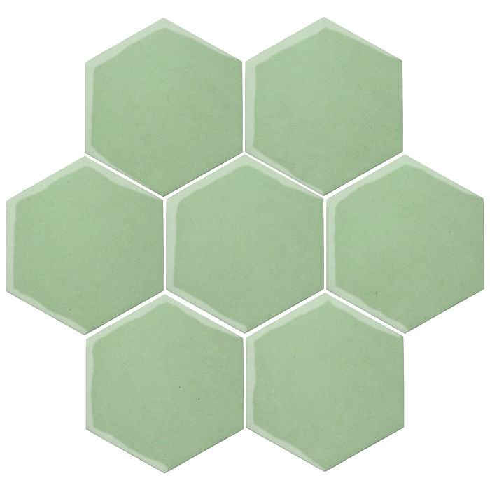 6x6 Oleson Hexagon Peppermint