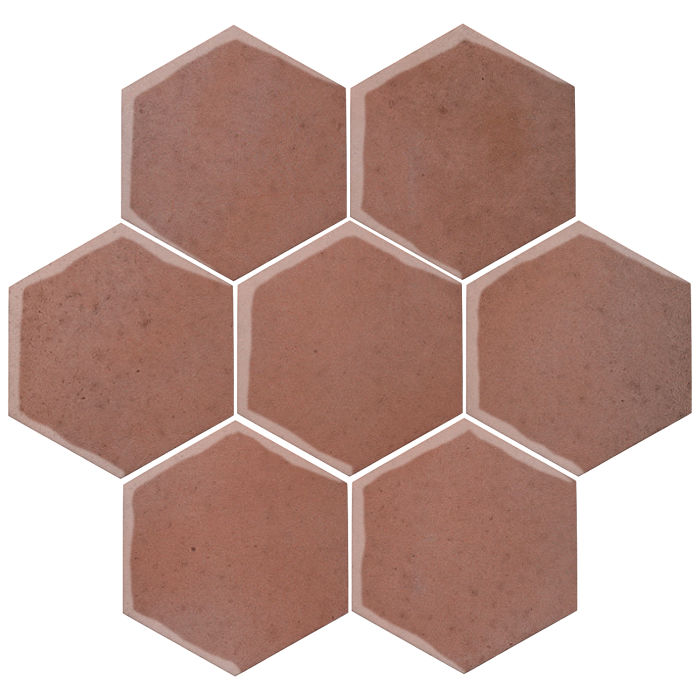 6x6 Oleson Hexagon Plum 5115c