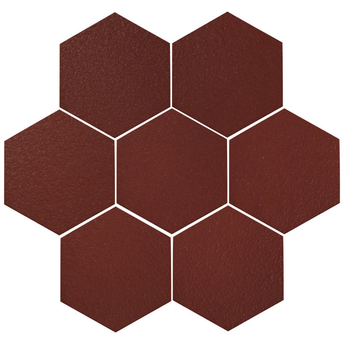 6x6 Oleson Hexagon Pueblo Red