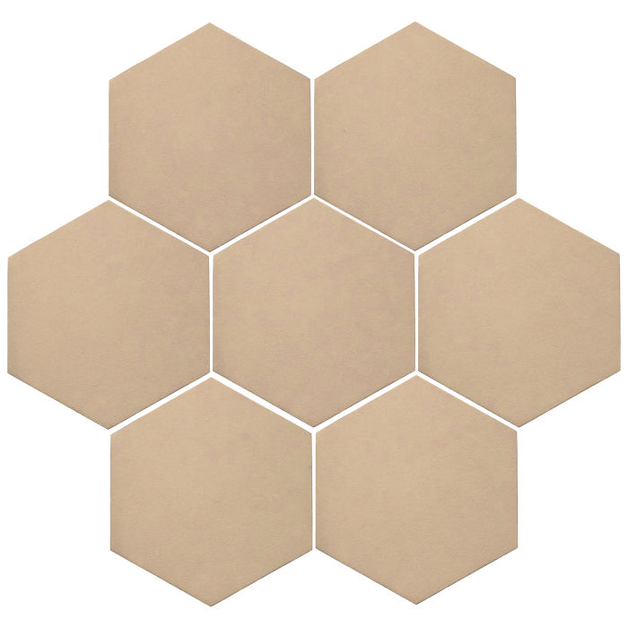 6x6 Oleson Hexagon Putty 4685c