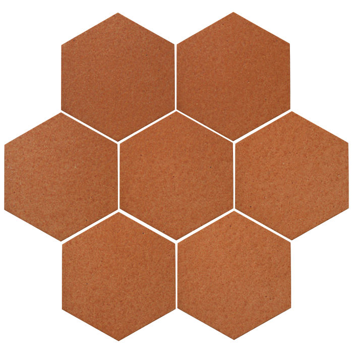 6x6 Oleson Hexagon Red Iron