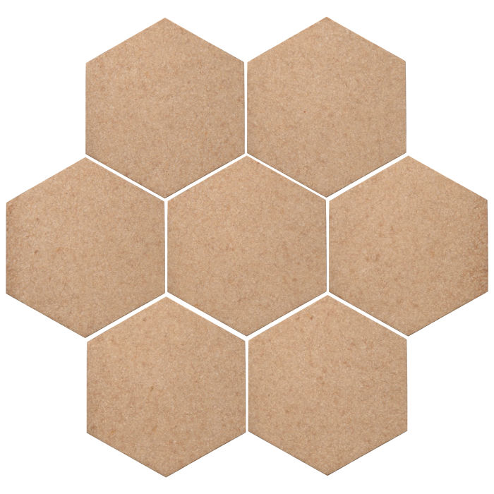 6x6 Oleson Hexagon Shiitake 466u