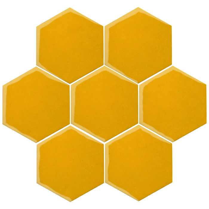 6x6 Oleson Hexagon Sunflower 1225c