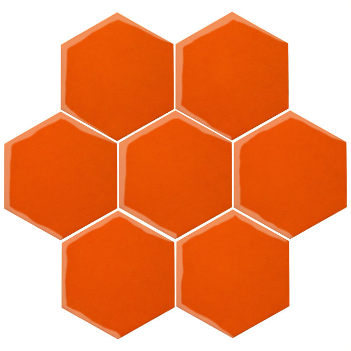 6x6 Oleson Hexagon Sunset 1585c