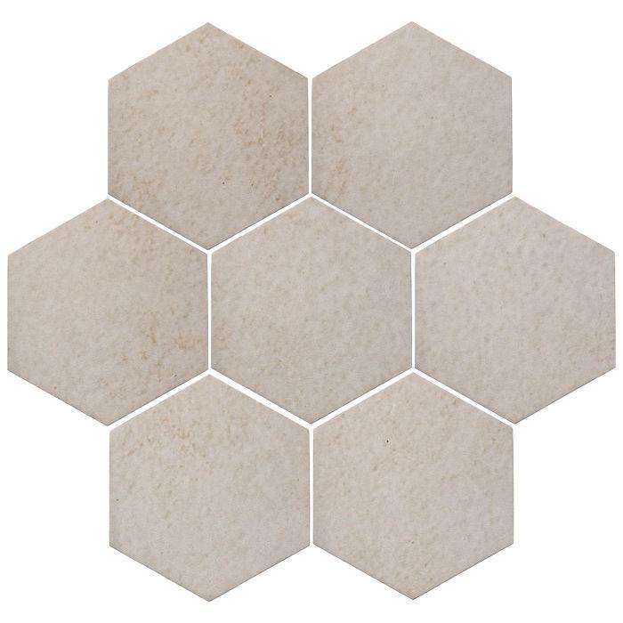 6x6 Oleson Hexagon Walnut Spice