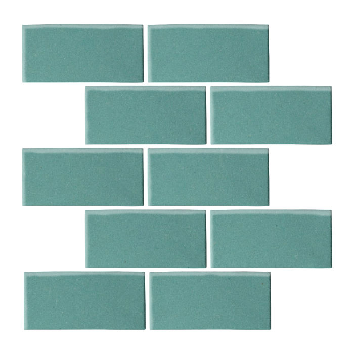 3x6 Oleson Blue Haze 7458c