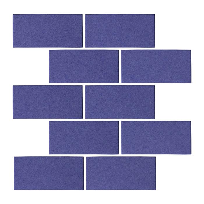 3x6 Oleson Blue Satin 7684u