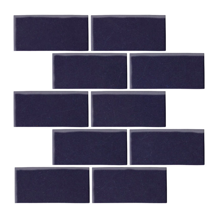 3x6 Oleson Midnight Blue 2965c