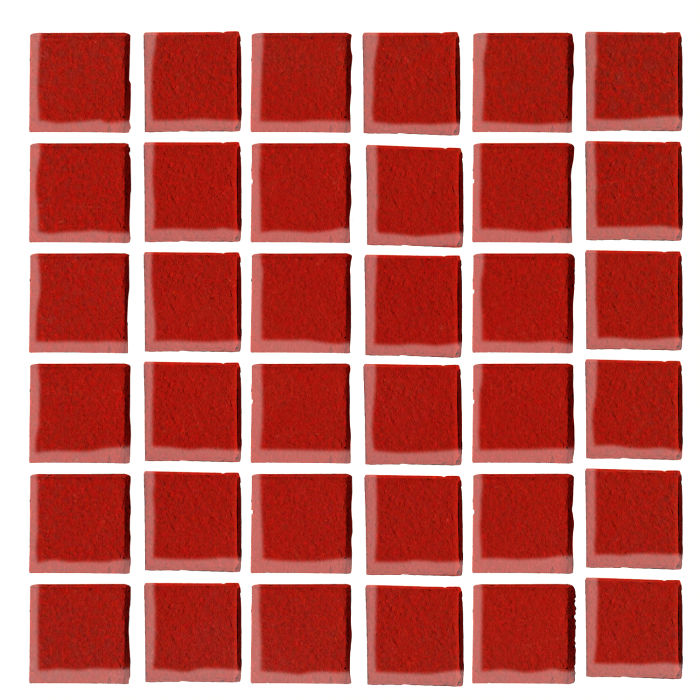 1x1 Oleson Brick Red 7624c