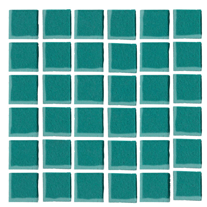 1x1 Oleson Real Teal 5483c