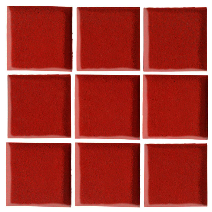 2x2 Oleson Brick Red 7624c
