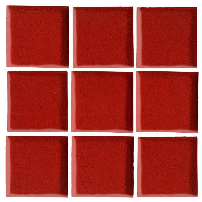 2x2 Oleson Brick Red 7624c