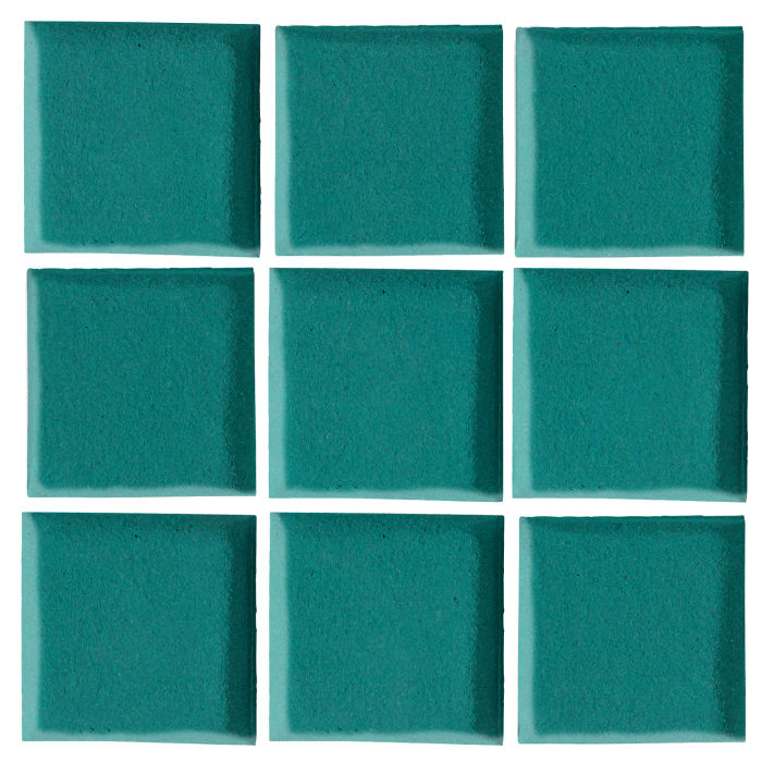 3x3 Oleson Real Teal 5483c