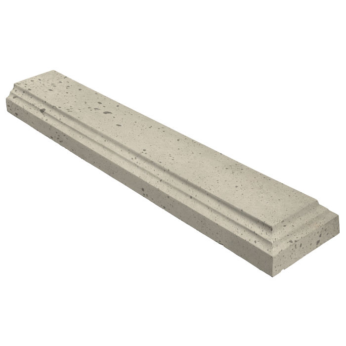 11.5x60 Baluster Base Terminal Early Gray Luna