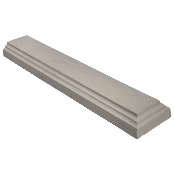 11.5x60 Baluster Base Terminal Natural Gray